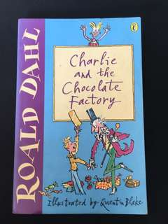 Roald Dahl Books Charlie and the chocolate factory