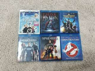 Marvel Disney Ghostbusters Original Blu-ray Movies