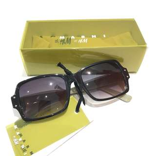 H&M crossover Marni 男裝太陽眼鏡