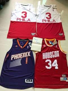 NBA Jersey 罕有刺繡系列