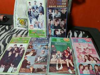 K-pop Postcard Box