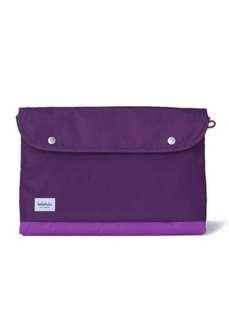 Hellolulu Tess 15-inch Slim Laptop Sleeve ( Purple )