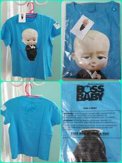 Baby boss kid t shirt, size L, postage included