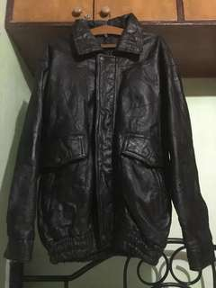 REPRICED!!! LEGIT Pakistani Leather Jacket