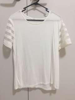 stylish white top