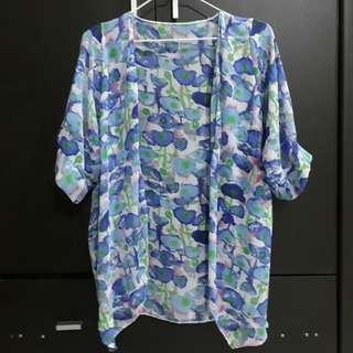 Floral Kimono/Cover Up
