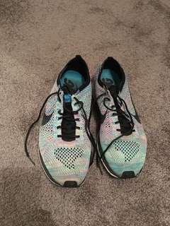 Nike Flyknit Racer Multicolour Size 10