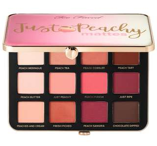 Too Faced - Just Peachy Mattes