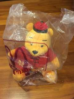 McDonald Toys - Winnie the Pooh in CNY costume