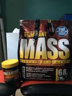 Vanilla Mutant Mass (5.5kg left)