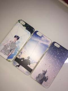 kpop plastic cases