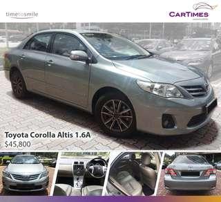 Toyota Corolla Altis 1.6 Auto Standard