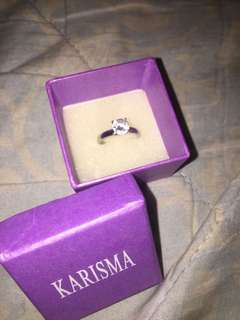 Engagment ring size 7.8 -8