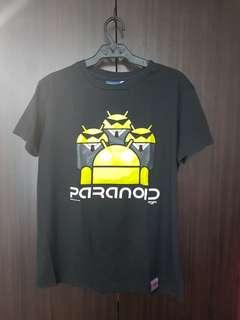 "Spoofs ""Paranoid"" Black Shirt"
