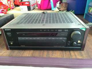 SONY amplifier made in japan..12 chanel..modelTA- AV 670