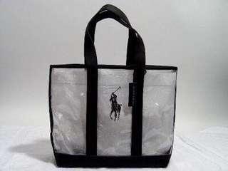 Authentic Ralph Lauren Clear Tote Bag