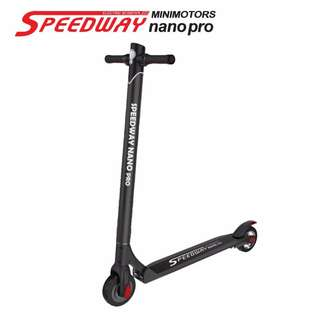 SPEEDWAY NANO/ SPEEDWAY NANO PRO ELECTRIC SCOOTER E-SCOOTER