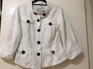 Pre-loved Zara Basic jacket-type blouse