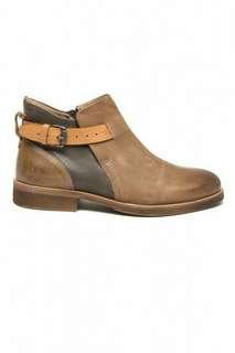 Sale!! Sepatu boots kulit asli