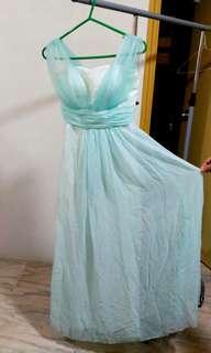 Bridesmaid Dress 伴娘姊妹裙 禮服婚紗裙 雪紡洋裝