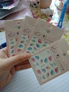 Nail art sticker (BUY 3 GET 1 FREE)