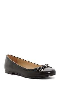 Authentic Naturalizer Grace Bow Leather Flats