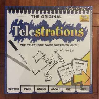 Telestrations 8 player party game