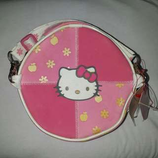 Pink Hello Kitty Round Bag