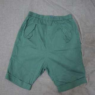 🚚 (代售)A La Sha深綠色短褲