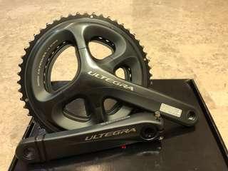 Shimano Ultegra 6800 52/36 crankset 172.5mm