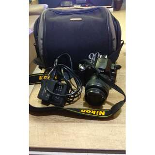 Nikon D40- 18 > 55 Lens - Condition 9/10 -Fullset