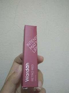 Wardah Intense Matte Lipstick 08 RetroRed