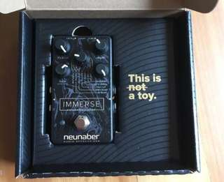The Neunaber Immerse Awesome Reverb Pedal