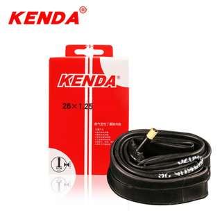 KENDA Bicycle Inner Tube 26 Inch x 1.25 / 1.5 / 1.75