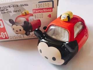 迪士尼 米奇 Pluto 車仔
