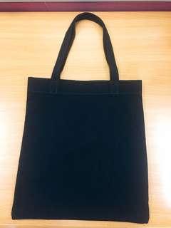 黑色帆布袋