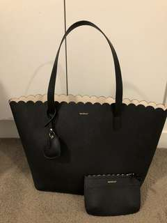 Marc tote and small pouch