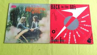 TIGHT FIT . back to the 60's ● THE VERY BEST OF SENTIMENTAL HITS VOL. 2 . Black Sabbath ● Rolling Stones ● Tracy Huang ● Paul Anka● Lynn Anderson ● Andy Williams ● Diana Ross ● Engelbert ● Carol King. etc ..  ( buy 1 get 1 free )  vinyl record