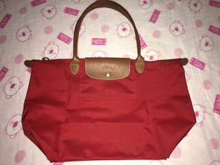 🌸‼️Sale Branded Longchamp Le Pliage Tote Bag. Original(wornout)