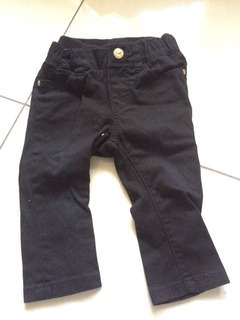 H&M KIDS BLACK JEANS
