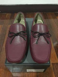 Pedro maroon loafers