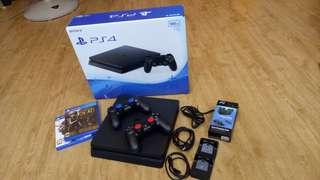 Sony PS4 Slim 500GB Jet Black
