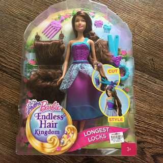 Barbie Endless Hair Kingdom Longest Locks