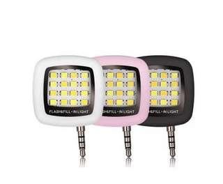 🚚 免運/智慧型手機LED拍照補光燈/iBlazr/閃光燈/自拍/手電筒/USB充電式