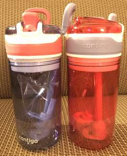 Contigo kids water bottle  (2in1)