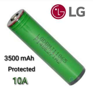 (In-Stock) LG MJ1 18650 Protected Lithium Ion Battery 3,500 mAh 3.7v