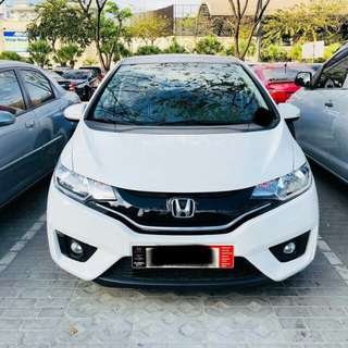 Honda Jazz Taffeta White 2016 Model