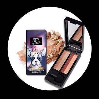 Limited Edition!NOVO Floral Silky Touch Lasting Color Eyeshadow