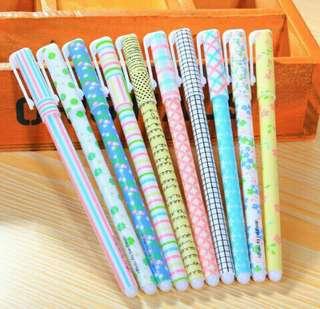 Gel Pen Set (10 Colors)