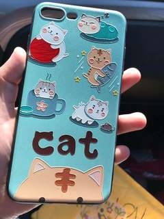 Iphone 7Plus 3D Emboss Soft Case